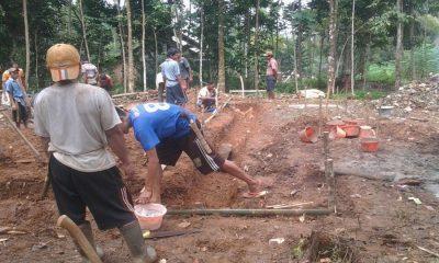 Pembangunan Musala di Cijaku