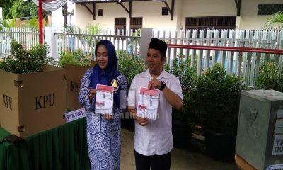Arief Wismansyah Mencoblos