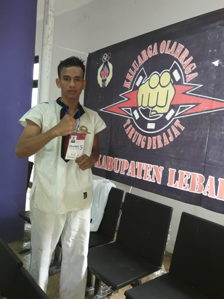 Eman, Atlet Tarung Drajat kelas 55-58 Kabupaten Lebak