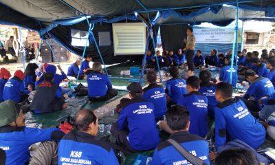 Relawan KSB dari Enam Kecamatan di Pandeglang Mendapat Pembinaan Pand