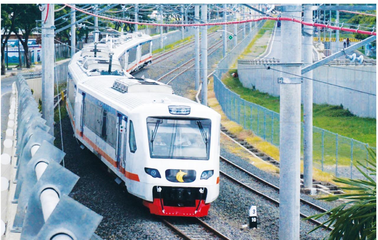 Double track Kereta Api Tangerang-Jakarta