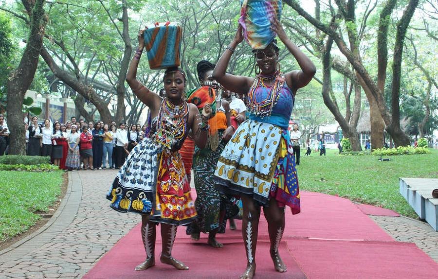 Kelompok Tari Afrika
