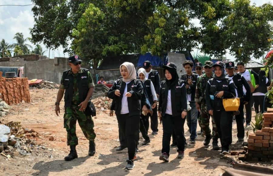 PMI Kota Serang Tiba di Lokasi Gempa Lombok