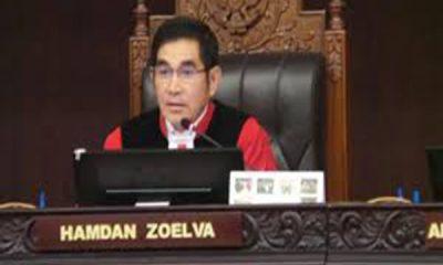 ketua MK Hamdan Zoelva