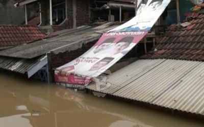 Kota Tangerang Kembali Dikepung Banjir