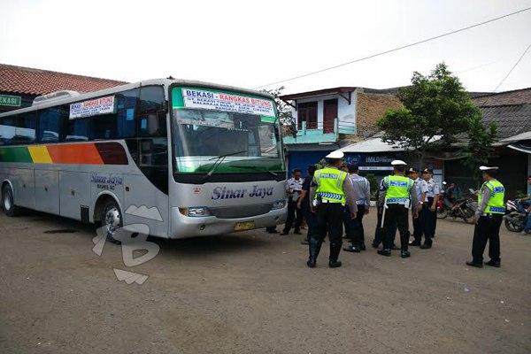 Dishub Pandeglang Akan Uji Kelayakan Armada Perusahaan Otobus