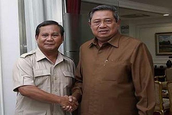 PRABOWO SUBIANTO DAN SBY SOAL PILGUB BANTEN 2017