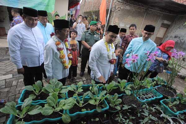 Arief Kunjungi Kampung PHBS