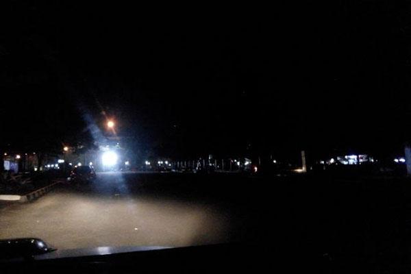 Dishub Kabupaten Lebak Tambah Lampu PJU di Jalan Raya Rangkasbitung-Gunung Kencana