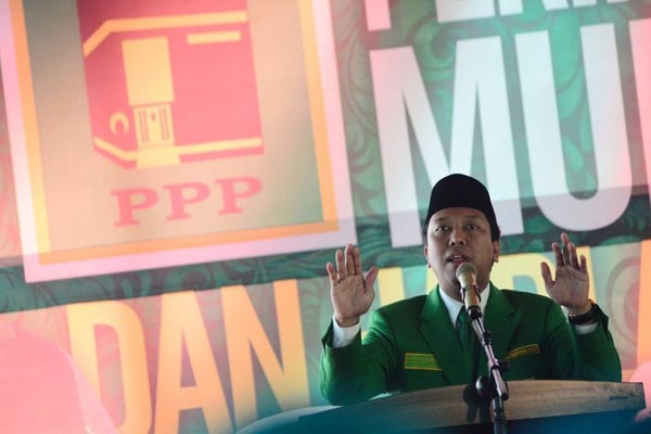 Ketum PPP versi Muktamar Surabaya Romahurmuziy