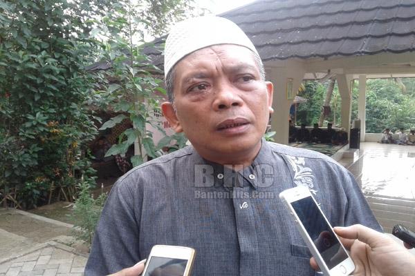 tokoh NU Banten Ketua NU Kota Serang KH. Matin Syarkowi