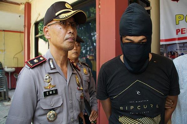 Kapolsek Tangerang Kompol Ewo Samono