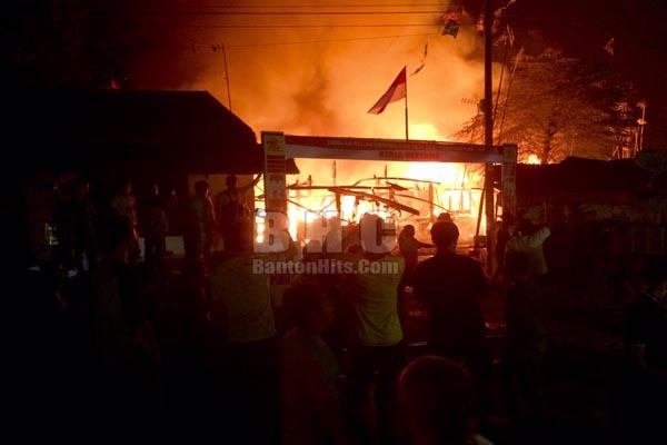 Kebakaran di Cilegon