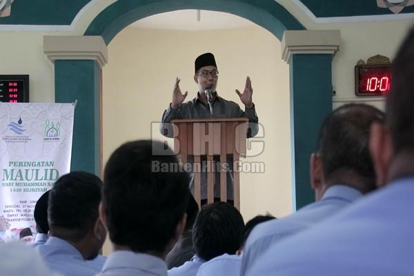 PDAM TKR Diminta Teladani SIfat Rasullullah
