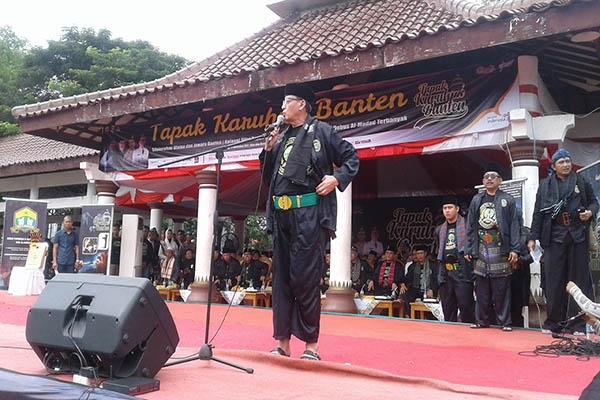 WH Hadiri Silaturahmi Ulama dan Jawara