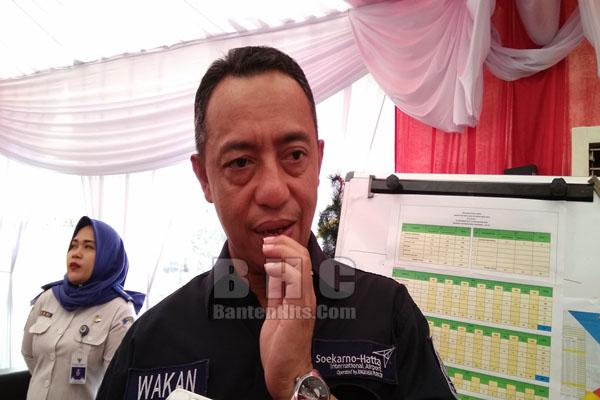 Executive General Manager Bandara Soetta, M. Suriawan Wakan