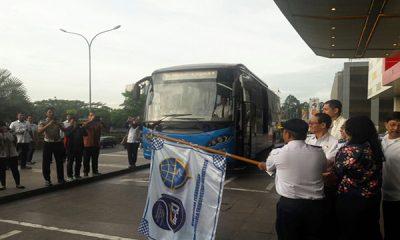Peresmian armada bus