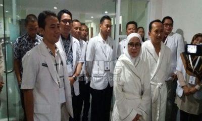 Iti Jayabaya Jalani Pemeriksaan Kesehatan