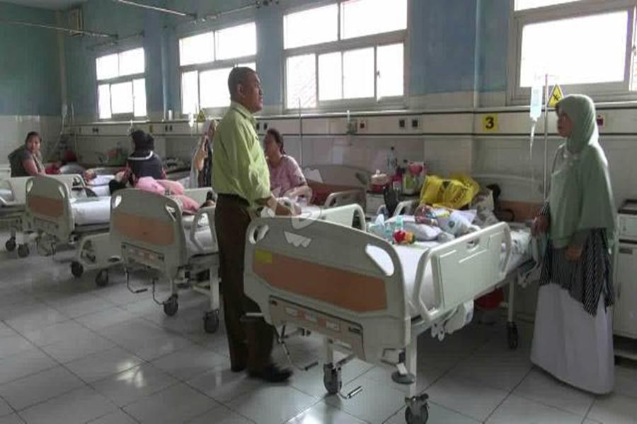 Pasien di RSUD Kota Tangerang