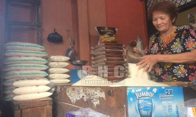 Pedagang tepung dan Pedagang Beras di Pasar Kranggot