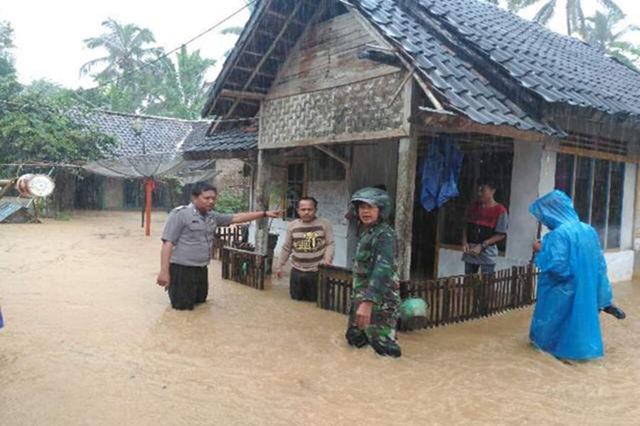 Banjir Rendam Lebak