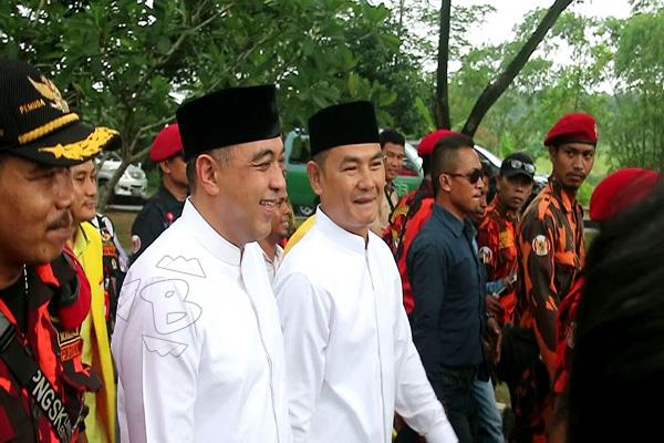 Pendaftaran calon bupati dan wakil bupati Tangerang
