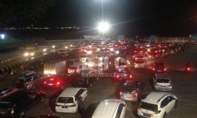 Antrean Kendaraan di Pelabuhan Merak