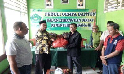 Bantuan Korban Gempa Bumi Kabupaten Lebak