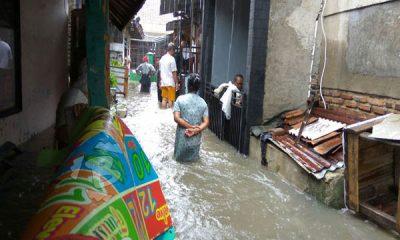 banjir di Lingkungan Rokal