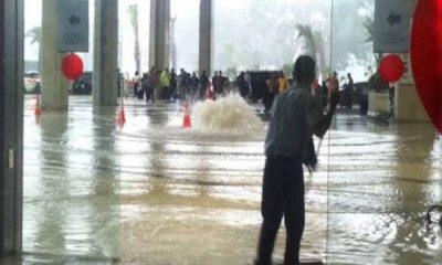 banjir di bandara seoakrno hatta
