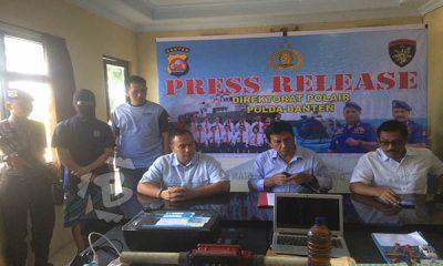 ditpolair Polda Banten ekspos penyelundupan bbm di bojonegoro