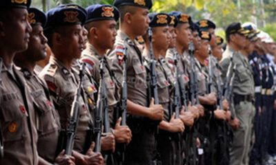 Ribuan Personel Amankan Pilbup Tangerang