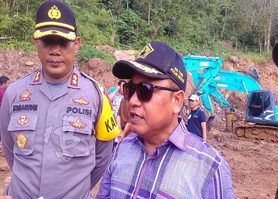 ketua DPRD Kabupaten Serang Muhsinin tinjau proyek geothermal