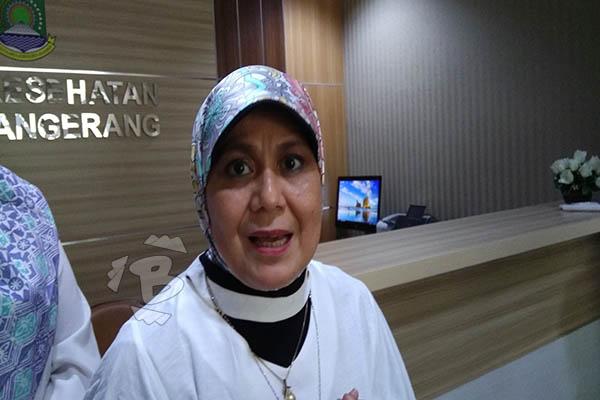 Kepala Dinas Kesehatan Kota Tangerang Liza Puspa Dewi