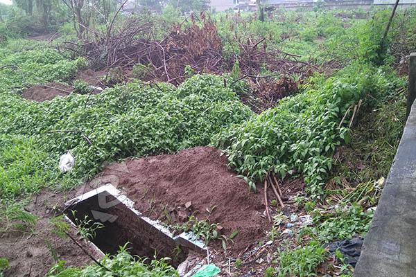 Makam di TPU Neglasari dibongkar