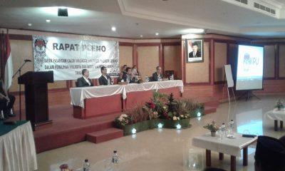 Pleno KPU Kota Serang