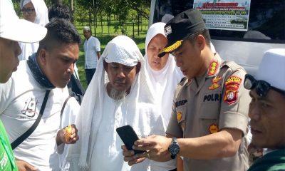 Simpatisan Rizieq Tinggalkan Bandara Soekarno-Hatta