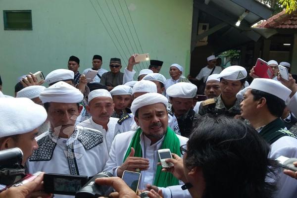 Imam Besar Front Pembela Islam (FPI) Muhammad Rizieq Shihab