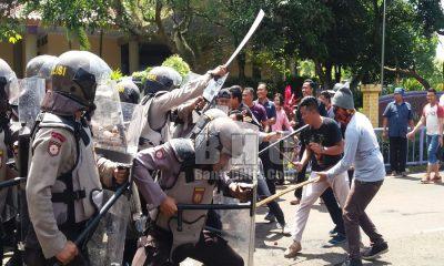Simulasi Pengamanan Pilbup Tangerang