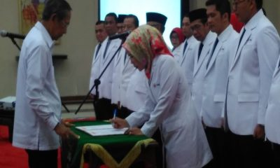 Pelantikan Pengurus PMI Banten