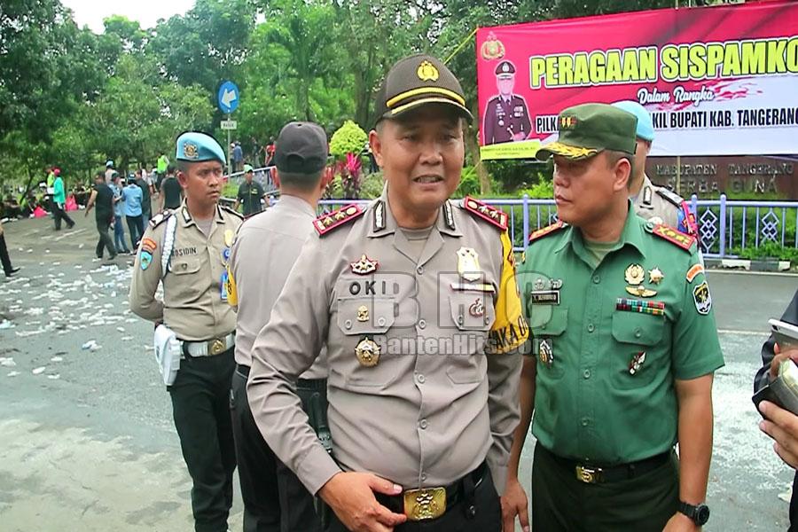 Wakapolres soal Titik Rawan di Pilbup Tangerang