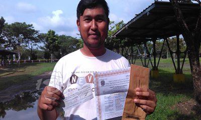 warga PWS Tigaraksa temukan amplop berisi SIUP dan cek