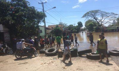 Banjir di Akses Jalan Cilegon-Anyer