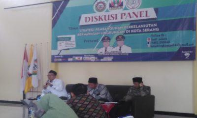 Diskusi di Kota Serang