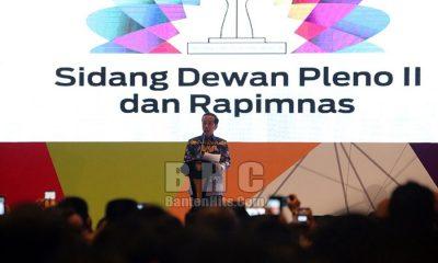 Jokowi Buka Rapimnas HIPMI