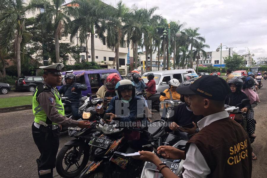 Uang Rp 774 Miliar Tak Masuk Kas Daerah Gara-gara Hampir 50 Persen Pemilik Kendaraan di Banten Belum Bayar Pajak