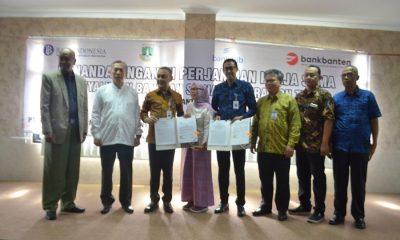 Kerja sama Dinsos, Bank BJB dan Bank Banten