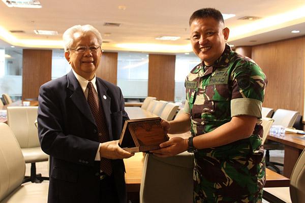 Korem 052/Wijayakrama Tangerang dan UPH Gagas Kerjasama Pengabdian kepada Masyarakat