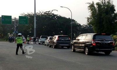 PEMBERLAKUAN SISTEM GANJIL-GENAP DI TOL TANGERANG-JAKARTA