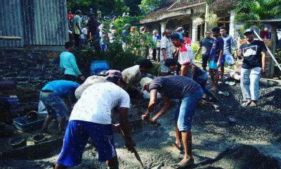 Perbaikan Jalan Poros Desa